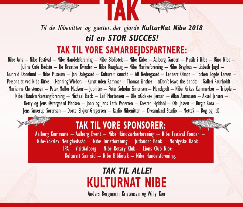 Kulturnat Nibe 2018